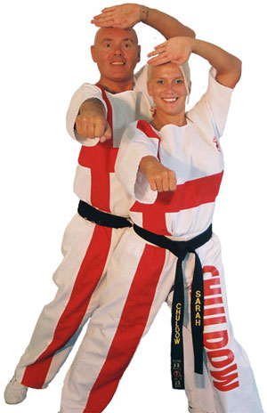 Ary & Sarah Hauer, Directors of Chuldow Martial Arts and Wakefield Academy Supercentre