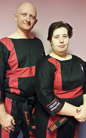Kirsty And Simon East Instructors At Morley Academy