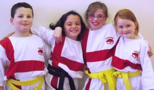 Kids Love Our Junior Martial Arts Programmes