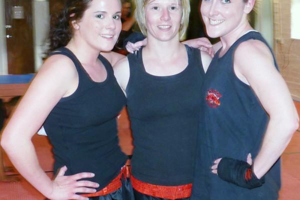 Kickboxing Ladies at Chuldow Martial Arts