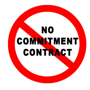 No Commitment Contract
